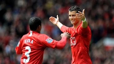 """Patrice Evra a postat ce a vorbit cu Cristiano Ronaldo pe WhatsApp: """"Voi juca la clubul nostru!"""". Foto"""