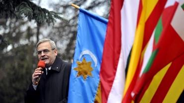 România, condamnată la CEDO în cazul Laszlo Tokes. Politicianul fusese sancționat dupăarborarea steagului Ținutului Secuiesc