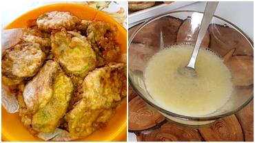 Rețetă de dovlecei prăjți cu mujdei de usturoi. Care este ingredientul secret care îi face savuroși