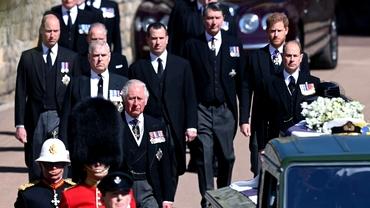 Prințul Philip al Marii Britanii a fost înmormântat astăzi. Ceremonie emoționantă la Capela St. George. Video/Foto