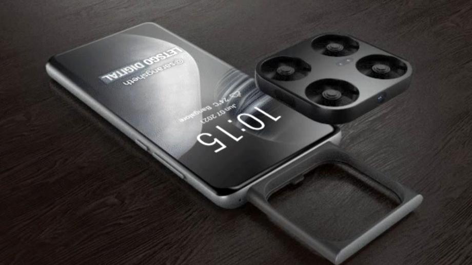 Vivo ar putea lansa telefonul cu dronă integrată. Cum ar arăta conceptul unui smartphone unic pe piață