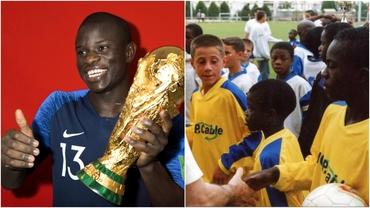 La 7 ani strângea gunoaiele în Paris, acum vrea EURO 2020! Povestea de film de Oscar a lui N'Golo Kante
