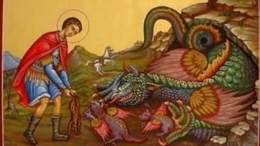 Rugăciunea către Sfântul Gheorghe care face minuni! Are cea mai mare putere de ziua lui