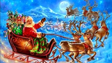 Moș Crăciun a pornit la drum și anul acesta. Cum poți afla unde împarte cadouri în timp real
