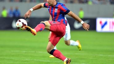 Steaua - Tbilisi 1-1. Low battery pentru play-off