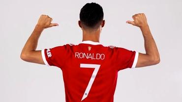 Efectul Cristiano Ronaldo! Manchester United a doborât în doar patru ore recordul de tricouri vândute