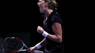 Kvitova a cîştigat finala de la Wuhan şi s-a calificat la Turneul Campioanelor