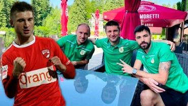 """Andrei Cristea, impresionat de Sorescu înainte de Dinamo - Mioveni: """"E greu să dai acum în România goluri pe care le dă el!"""" Exclusiv"""