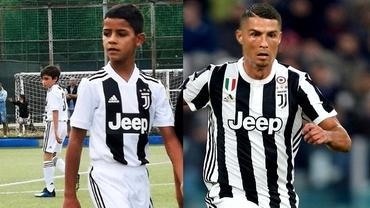 Ronaldo Jr. pe urmele tatălui? Fiii celor mai mari fotbaliști care pot ajunge în top în anii următori