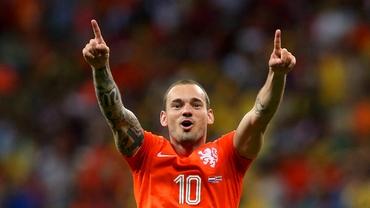 United, tratative cu Sneijder. Vezi preţul fixat de turci!