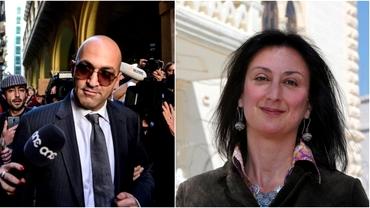 Unul dintre cei mai bogați afaceriști din Malta, inculpat în cazul uciderii jurnalistei Daphne Caruana Galizia. Procurorii cer condamnare pe viață