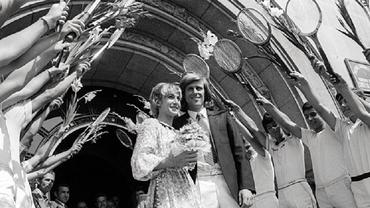 """Björn Borg, """"iceborgul"""" dezgheţat de Mariana Simionescu, la 65 de ani. Nunta secolului în... carul cu boi! Video de colecție"""