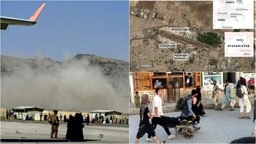 Explozii lângă aeroportul din Kabul. Peste 100 de persoane au fost ucise. Printre morți, britanici și americani. Update