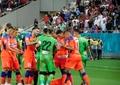 """FCSB – Dinamo, din nou un """"derby cu cântec""""! Cum s-a văzut din tribune duelul celor două galerii. Video+foto"""