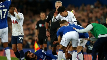 Andre Gomes, accidentare groaznică în Everton-Tottenham: