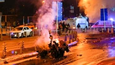 Foto. Atac cu bombă în timpul unui meci de fotbal! Cinci morţi!