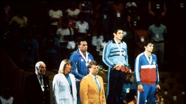Vasile Andrei, portdrapelul României la JO din 1980 și 1988! A câștigat titlul olimpic la Los Angeles