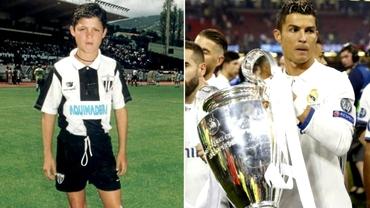 Ronaldo, despre începuturile carierei:
