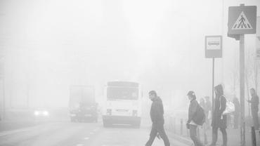 COD GALBEN de ceaţă în mai multe judeţe din ţară