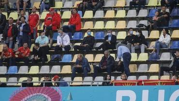 Situație jenantă pe Arena Națională. FRF a adus politicieni la VIP, Hagi și Popescu