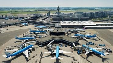 Toate zborurile de pe aeroportul Schiphol din Amsterdam au fost anulate