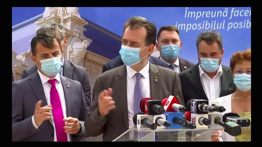 """Ministrul Ion Ștefan, zis """"Grindă"""", imită gesturile premierului Ludovic Orban. Imaginile, devenite virale. Video"""