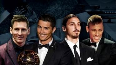 Cei mai bogați fotbaliști din lume. Top 10. Surpriza de pe locul 1