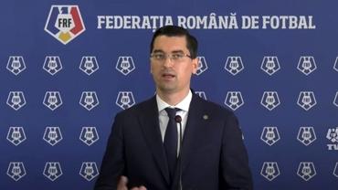 Răzvan Burleanu a anunțat modificarea regulii U21. Ce se întâmplă cu Supercupa României și Liga 2