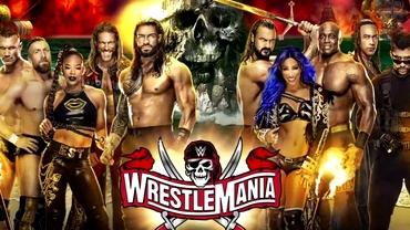 """Regalul wrestlingului e """"Back in Business"""". WrestleMania 37, spectacolul în care WWE reprimește fanii pe stadion"""