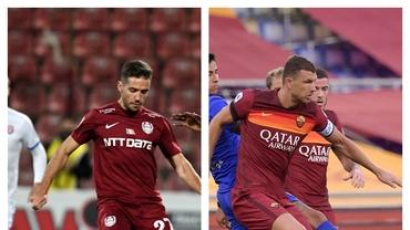 Diferenţe salariale uriaşe între CFR Cluj şi AS Roma! Chipciu ia pe lună cât Dzeko într-o zi