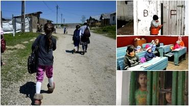 Zeci de școli cu toaleta în fundul curții au reluat cursurile! România, la granița sărăciei în educație