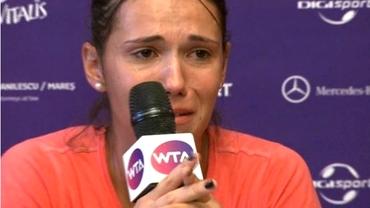 VIDEO EMOŢIONANT / Raluca Olaru a izbucnit în PLÎNS la conferinţa de presă:
