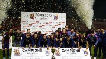 VIDEO / Barcelona a cîştigat primul trofeu al sezonului!