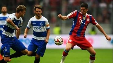VIDEO / Lewandowski promite un sezon MARE! A marcat două SUPER goluri pentru Bayern