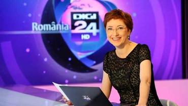 """Alice Iacobescu, scoasă de pe post la o zi după ce a vorbit despre demisia de la Digi 24: """"După gustul meu, Gabriela Firea este prezentă prea des pe ecrane"""""""
