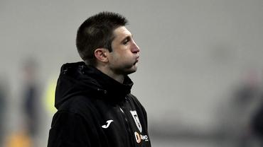 Andrei Cristea nu stă pe bancă la debut! Ce s-a întâmplat cu noul antrenor al Iaşiului