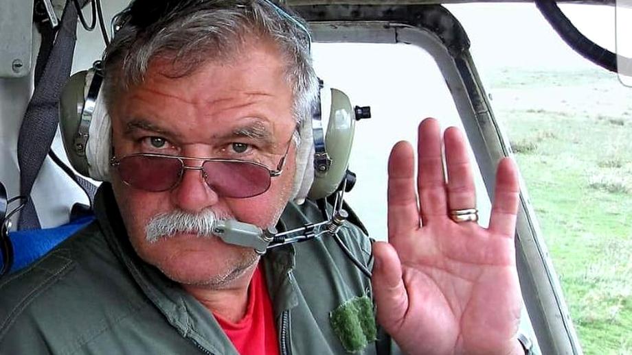 Accident mortal în Prahova. A murit Valer Novac, cel mai cunoscut pilot de elicopter din România