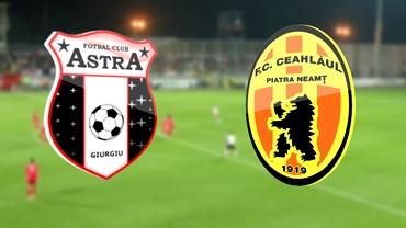 VIDEO / Astra cîştigă dramatic cu Ceahlăul! Prima VICTORIE a lui Protasov!