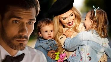 Andreea Bălan l-a iertat pe George Burcea! Ce i-a spus fetița ei, Ella, după ce actorul a plecat de acasă