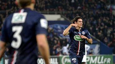 VIDEO / Cavani şi Pastore SHOW! PSG merge mai departe în Cupa Franţei!