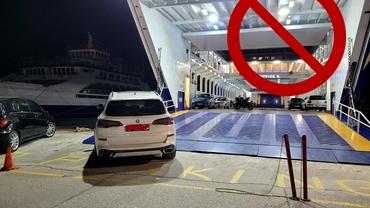 Cascadă de ironii după ce un român a blocat un feribot în Grecia: