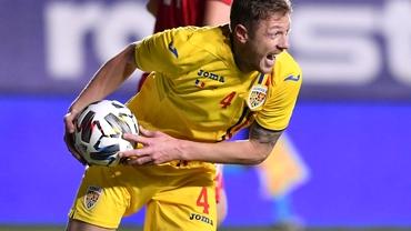Bogdan Mitrea, debut cu gol la națională la 33 de ani! Cum a ajuns titular, deși era pe lista auxiliară