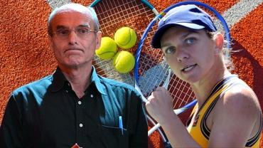 """Cristian Tudor Popescu, entuziasmat de prestația Simonei Halep la US Open: """"E matură, o ține creierul!"""""""