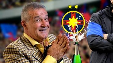 """Pariu pe șampanii despre viitorul antrenor de la FCSB! Crăciunescu și Poenaru, dialog spumos: """"Bine, îți dau două"""""""