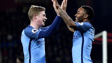 Manchester City domină Anglia! Are trei nominalizaţi la titlul de jucătorul sezonului