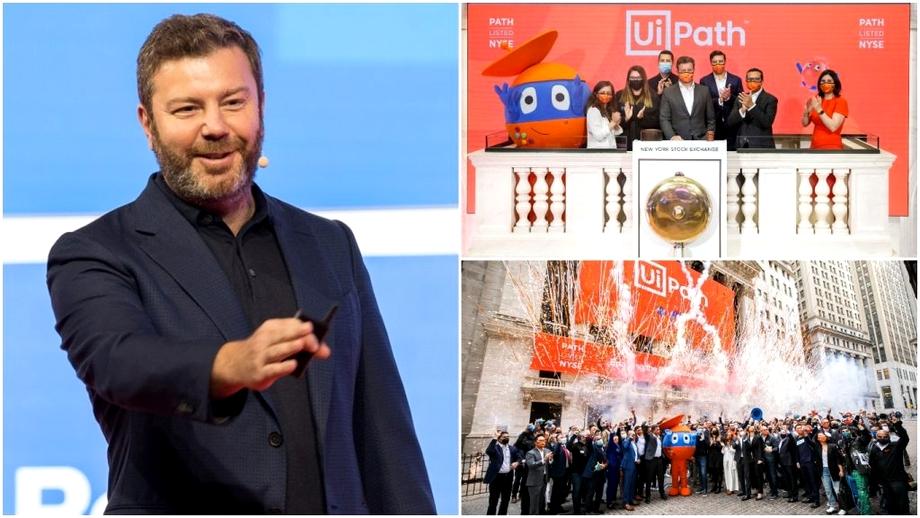 Cine e Daniel Dineş, fondatorul UiPath, start-up-ul românesc care a fost listat la Bursa din New York