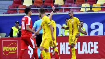 """Unde a petrecut Gabriel Tamaș după ce a fost eliminat în România - Serbia 0-0! """"Ești cel mai bun fundaș"""""""