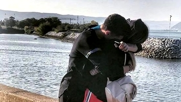 Lorena, fiica lui Flavius Stoican, se iubeşte cu un fotbalist de la U Craiova. Galerie foto