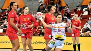Naționala României de handbal, pe post de