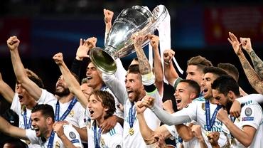 Real Madrid domină clasamentul punctelor obţinute în Champions League! Cum arată top 10